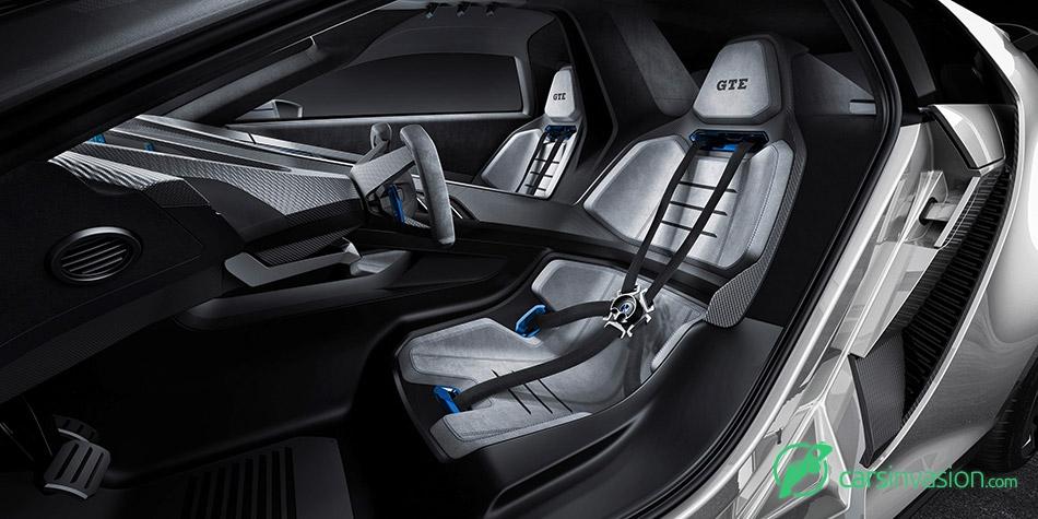 2015 Volkswagen Golf GTE Sport Concept Interior