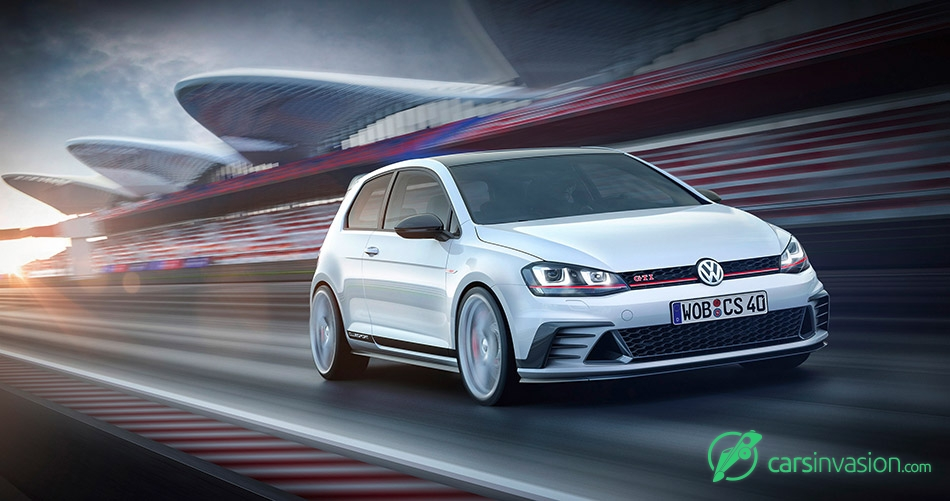 2015 Volkswagen Golf GTI Clubsport Concept Front Angle