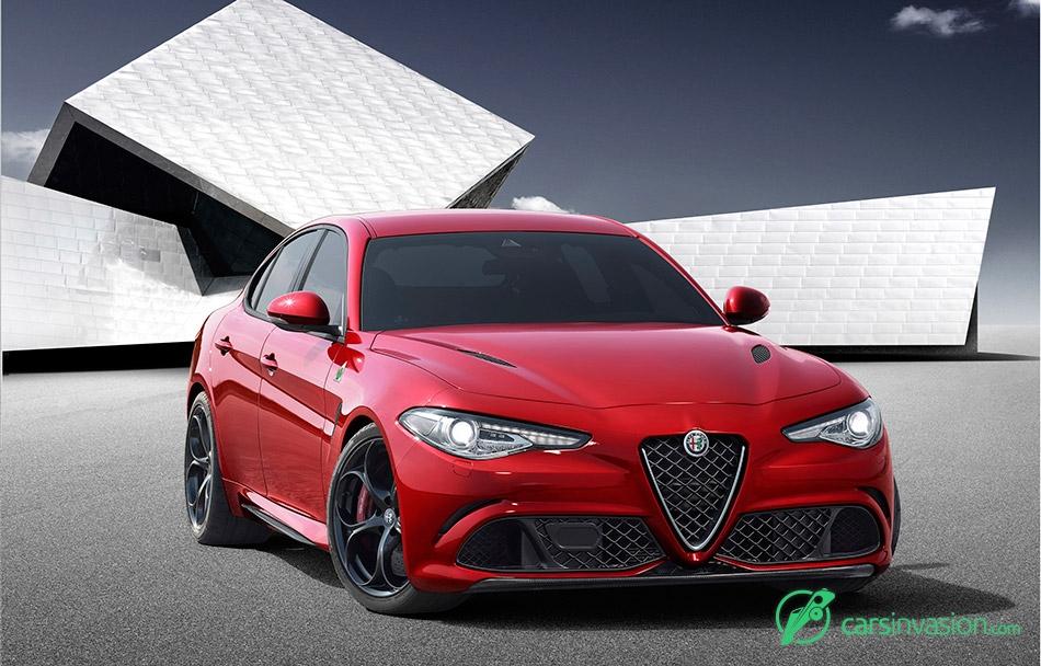 2016 Alfa Romeo Giulia Front Angle