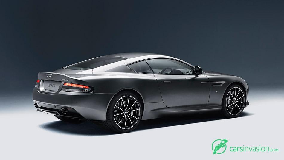 2016 Aston Martin DB9 GT Rear Angle