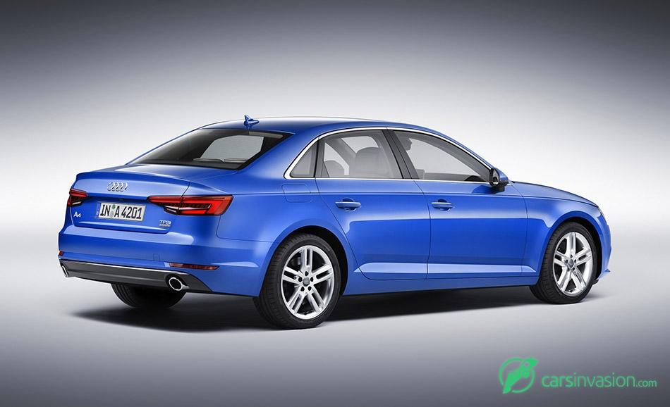 2016 Audi A4 Rear Angle