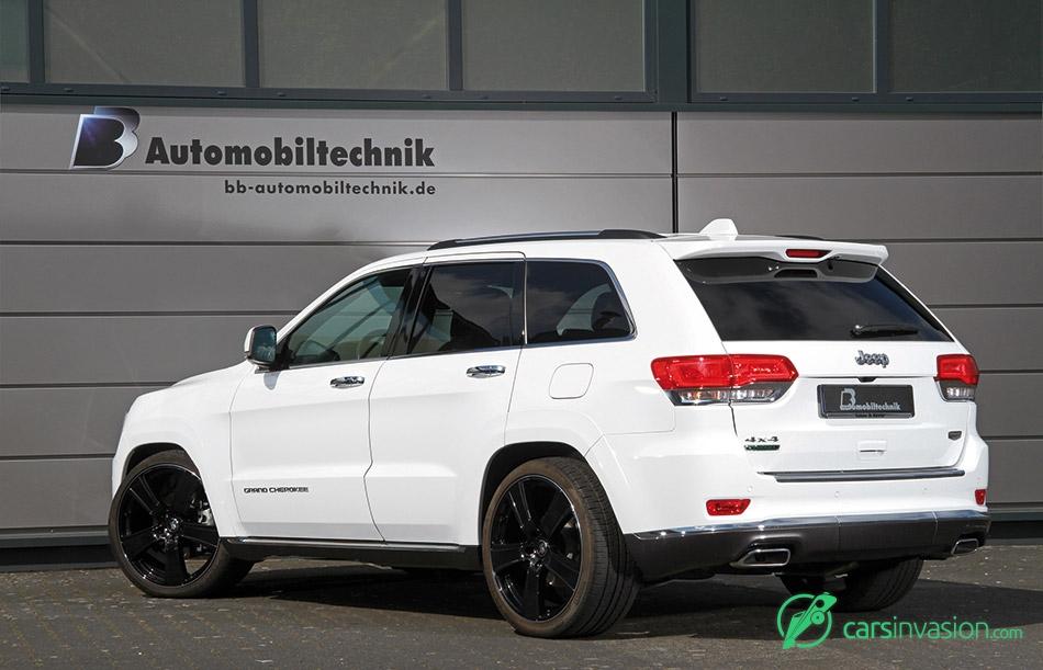 2015 BB Jeep Grand Cherokee Rear Angle