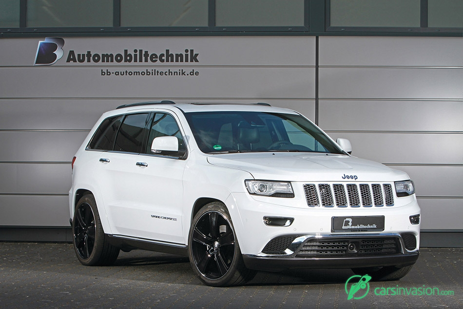 2015 BB Jeep Grand Cherokee Front Angle