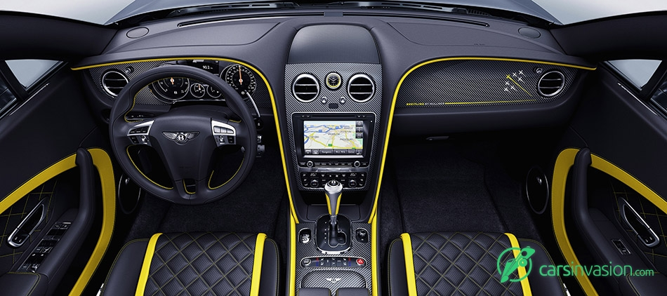 2016 Bentley Continental GT Speed Breitling Jet Team Series Interior
