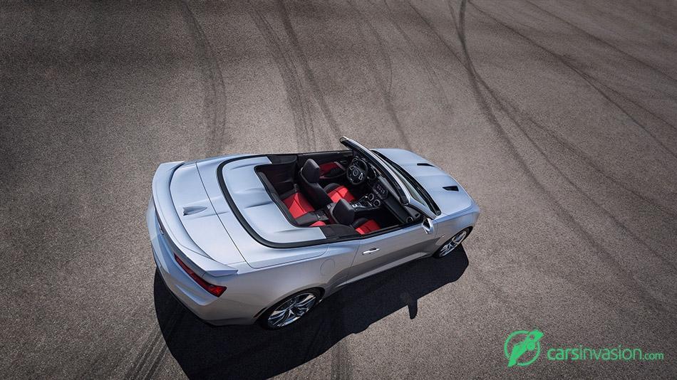 2016 Chevrolet Camaro Convertible Interior Top