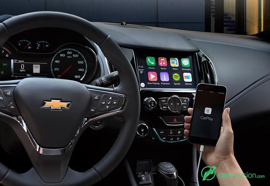 2016 Chevrolet Cruze Display Control Connectivity