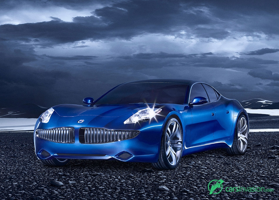 2008 Fisker Karma Prototype Front Angle