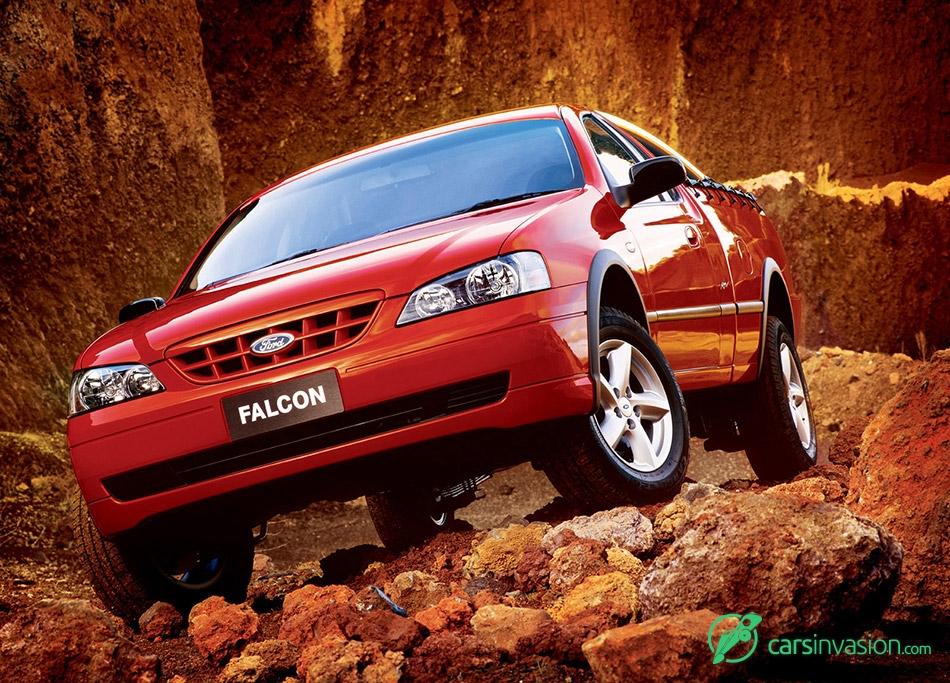 2003 Ford BA Falcon RTV Ute Front Angle