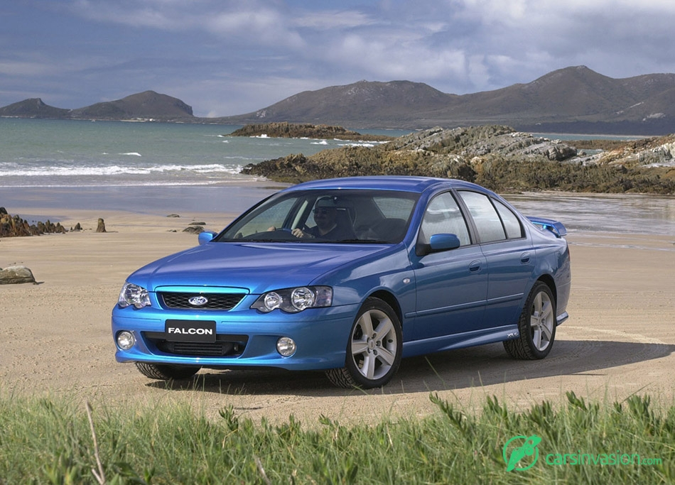 2002 Ford BA Falcon XR6 Turbo Front Angle