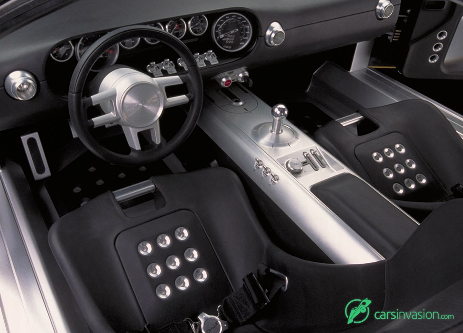 2002 Ford GT40 Concept Interior