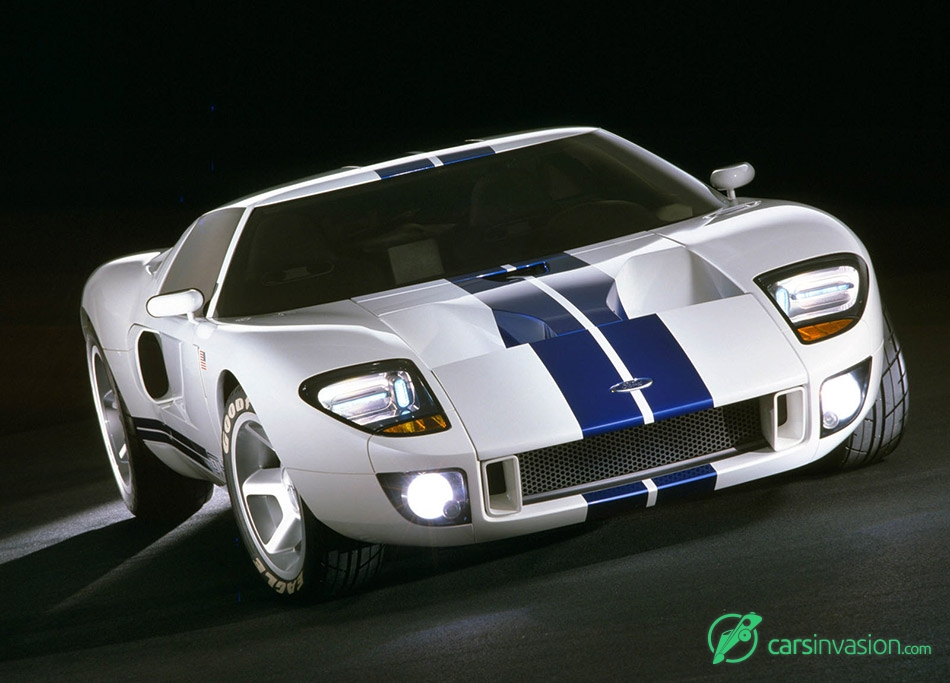 2002 Ford GT40 Concept Front Angle