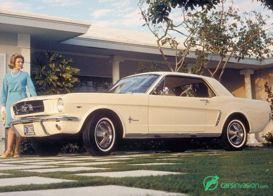 1964 Ford Mustang Front Angle
