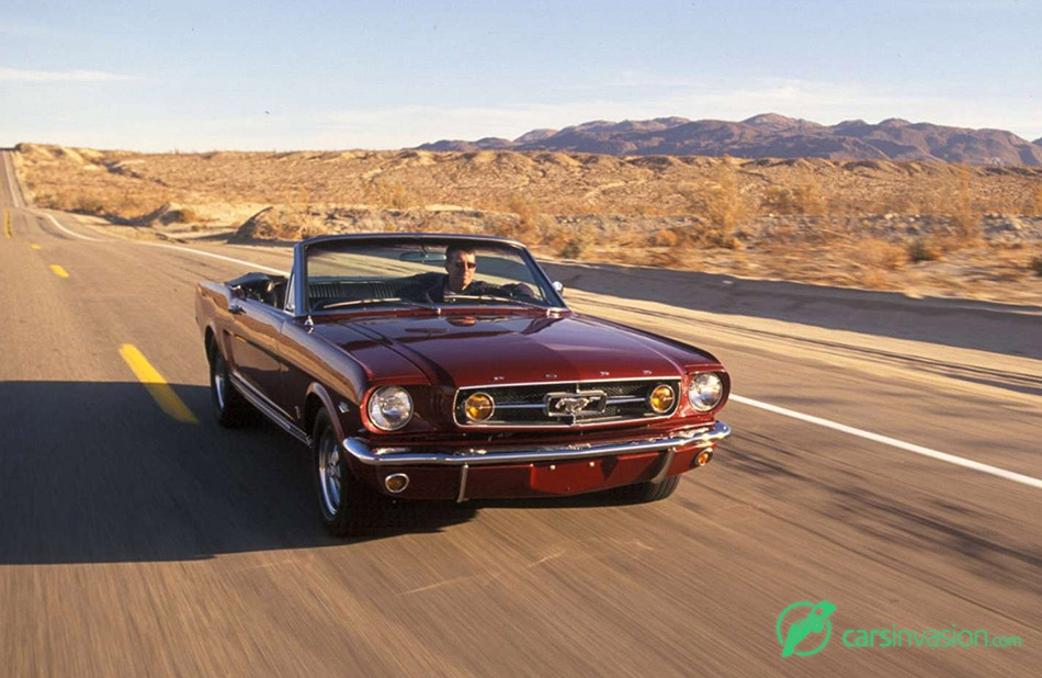 1965 Ford Mustang K-Code Front Angle