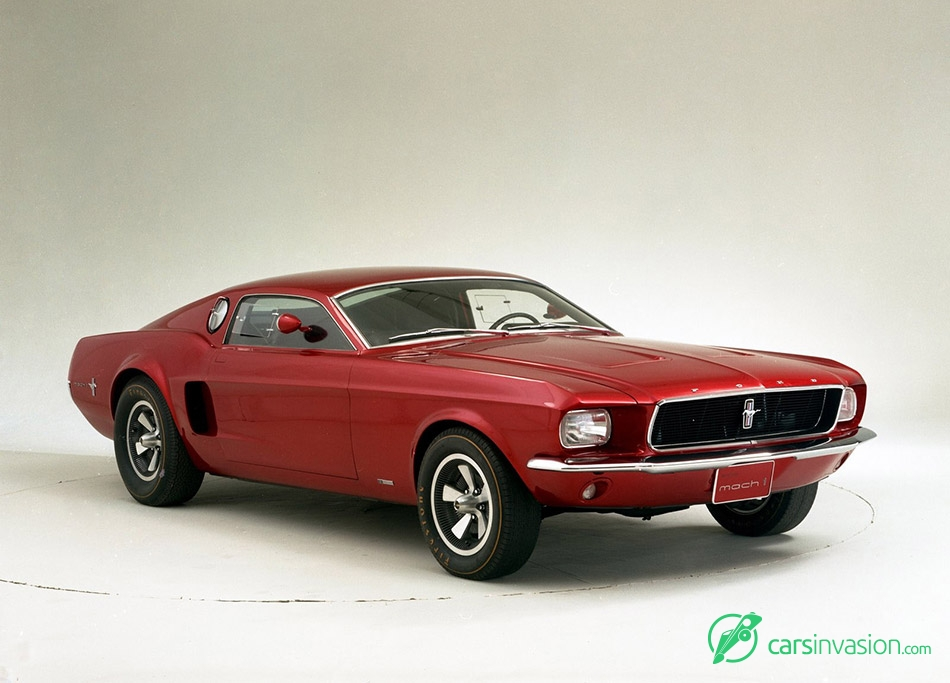 1966 Ford Mustang Mach 1 Concept Front Angle
