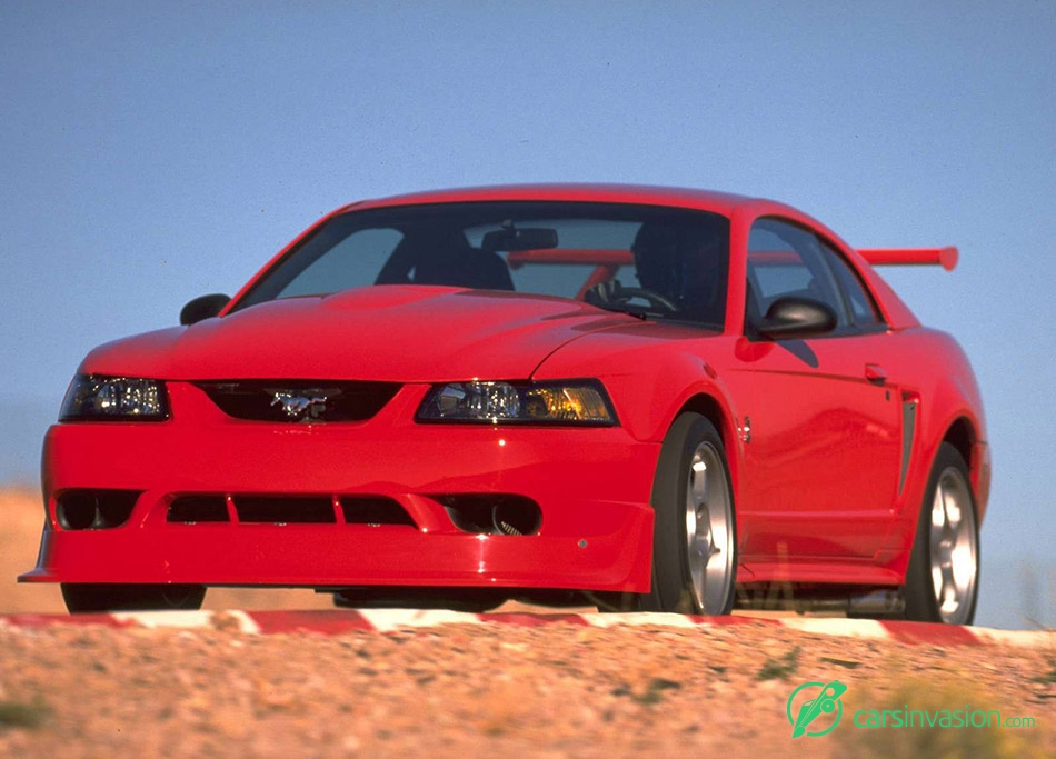 2000 Ford Mustang SVT Cobra R Front Angle