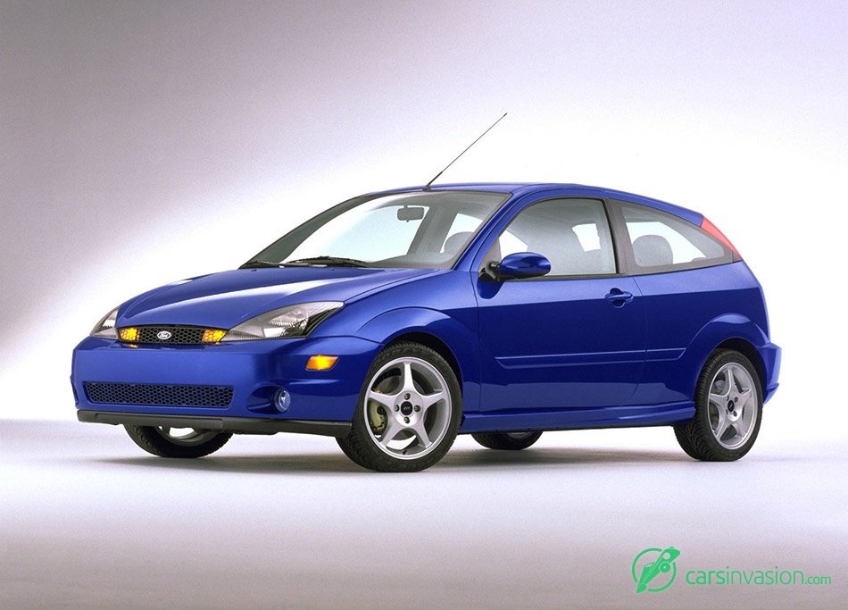 2002 Ford SVT Focus Front Angle