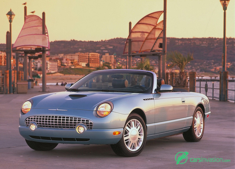 2002 Ford Thunderbird Front Angle