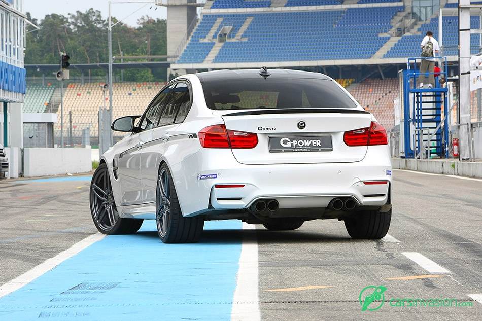 2015 G-Power BMW M3 F80 Bi-Tronik 2 V2 Rear Angle