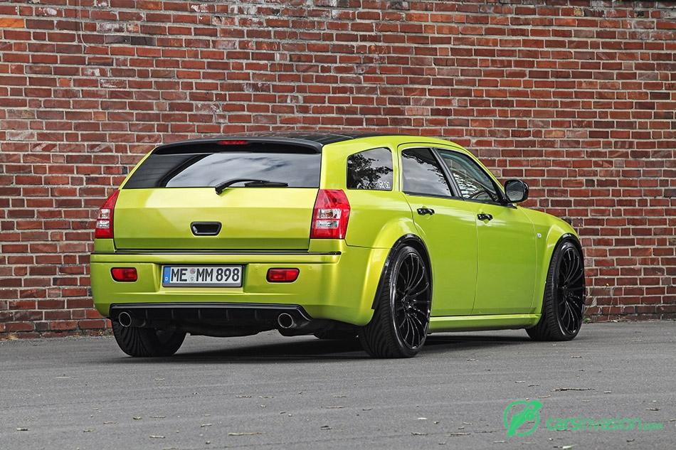 2015 HplusB Chrysler 300C CRD Touring Rear Angle