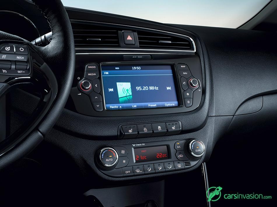 2016 Kia Ceed Interior