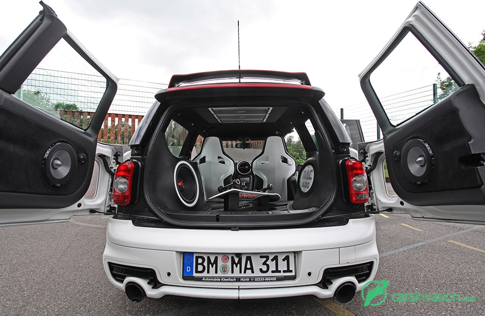 2015 Mac Audio Mini Clubman S Sound System