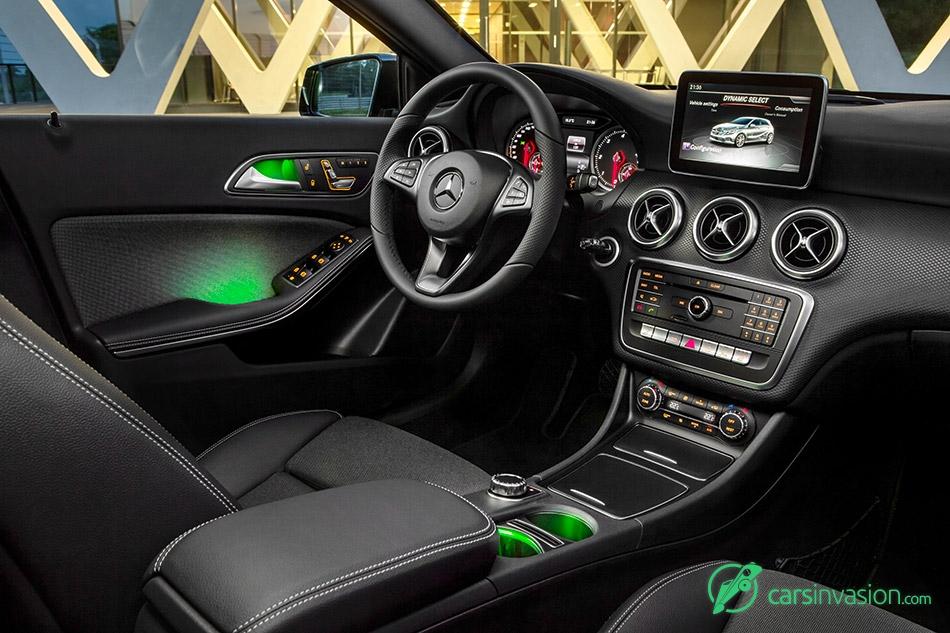 2016 Mercedes-Benz A-Class Interior