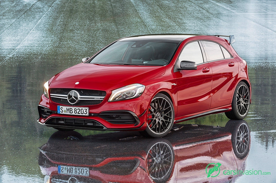 2016 Mercedes-Benz A45 AMG 4Matic Front Angle