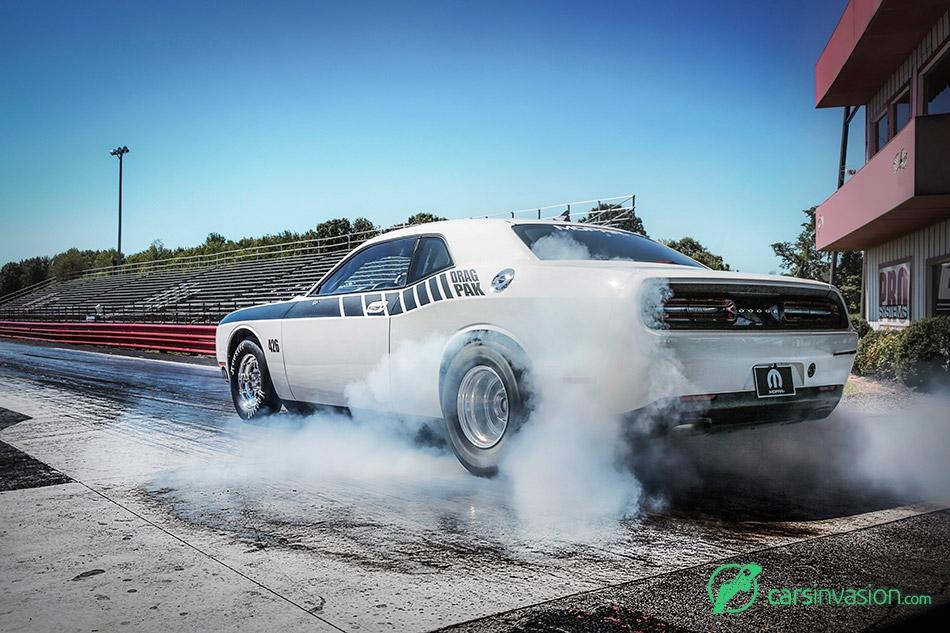 2015 Mopar Dodge Challenger Drag Pak Rear Angle