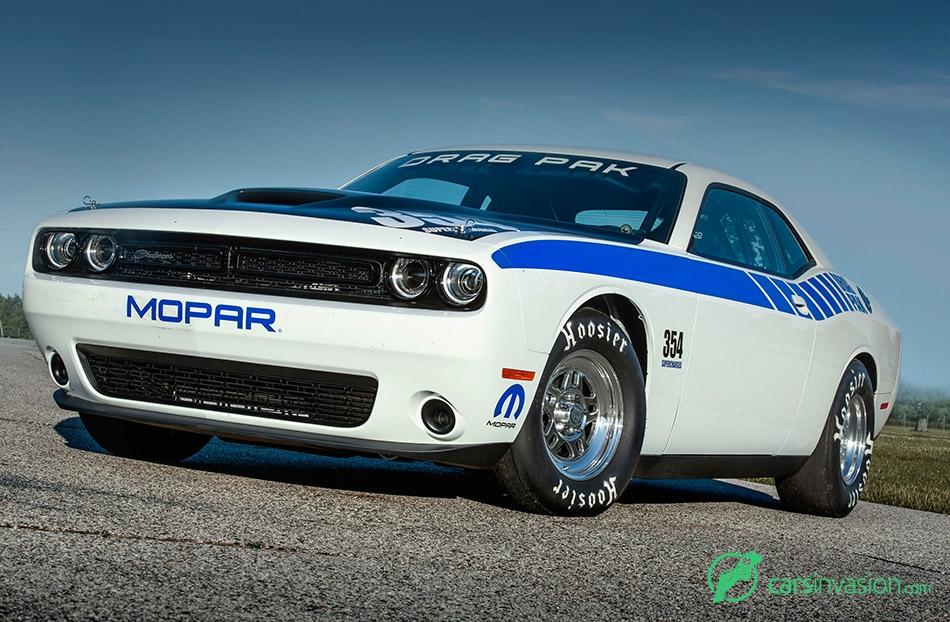2015 Mopar Dodge Challenger Drag Pak Front Angle
