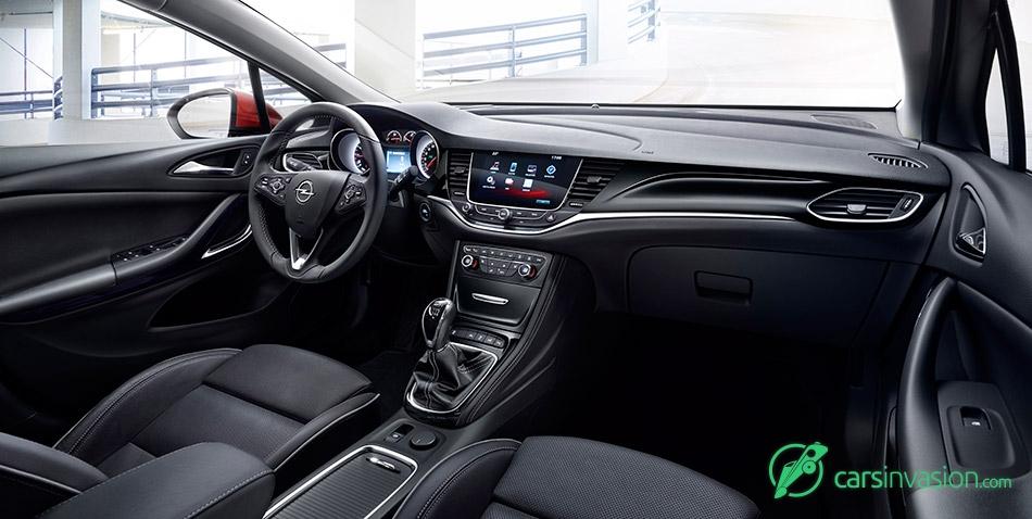 2016 Opel Astra Interior