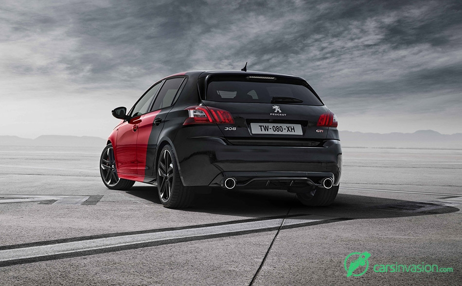 2016 Peugeot 308 GTi Rear Angle