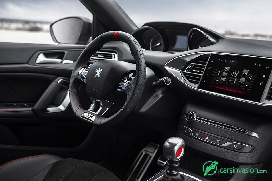 2016 Peugeot 308 GTi Interior