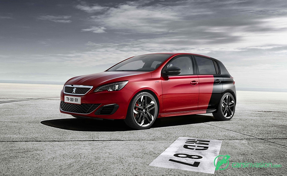 2016 Peugeot 308 GTi Front Angle