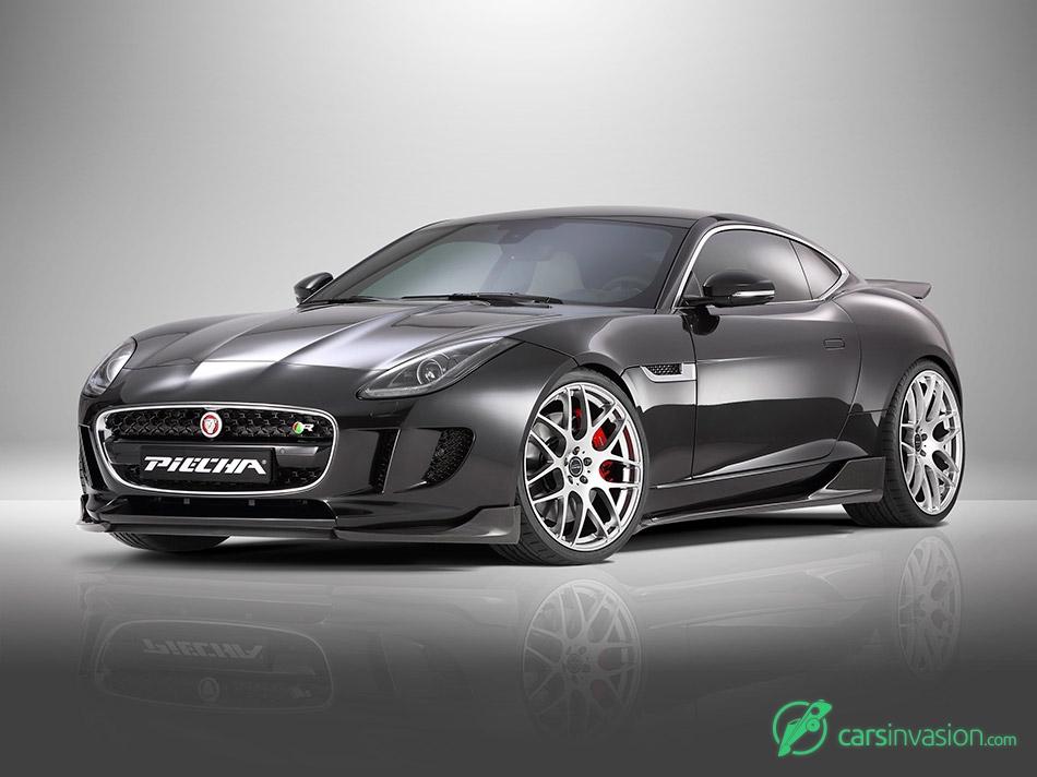 2015 Piecha Jaguar F-Type R Coupe Front Angle