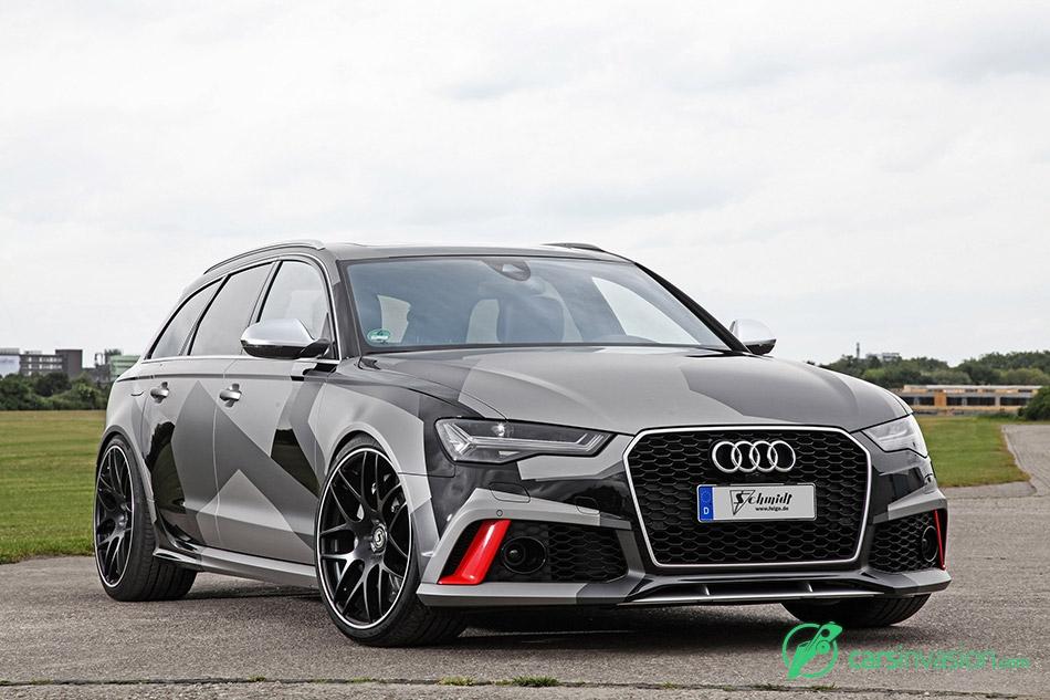 2015 Schmidt Audi RS6 Avant Front Angle