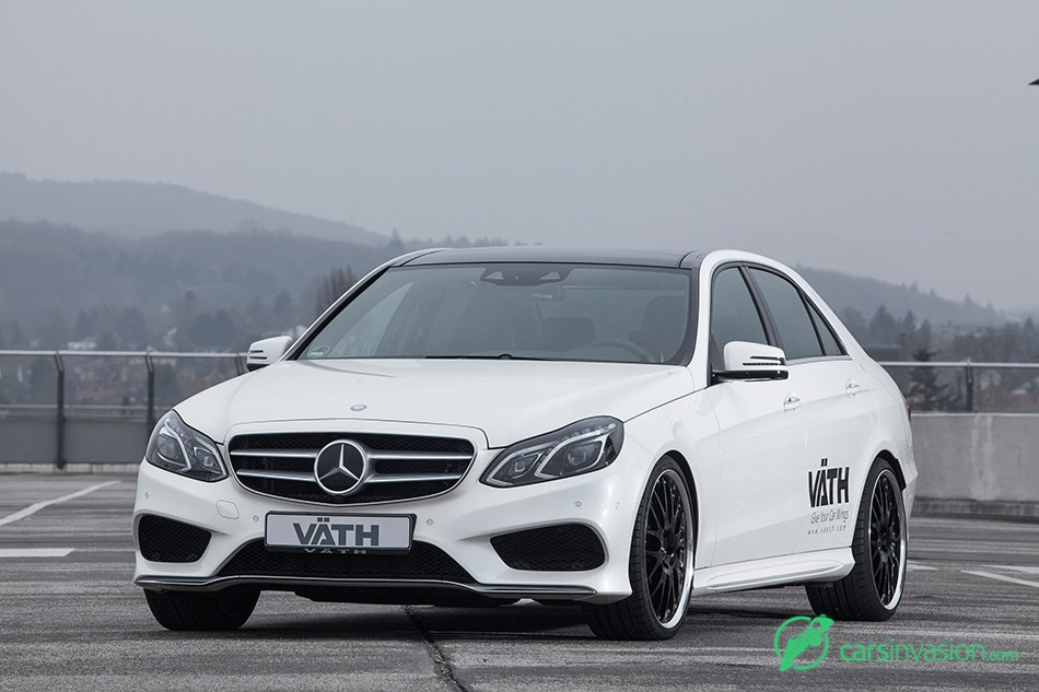 2015 VATH Mercedes-Benz E500 Front Angle