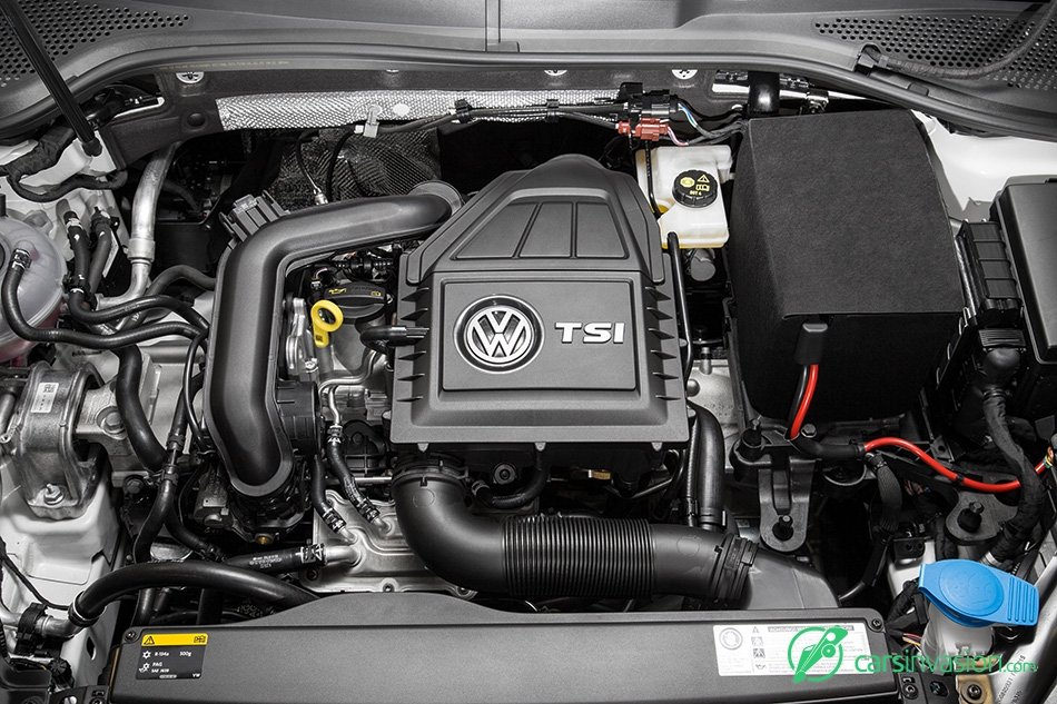 2015 Volkswagen Golf TSI BlueMotion Engine