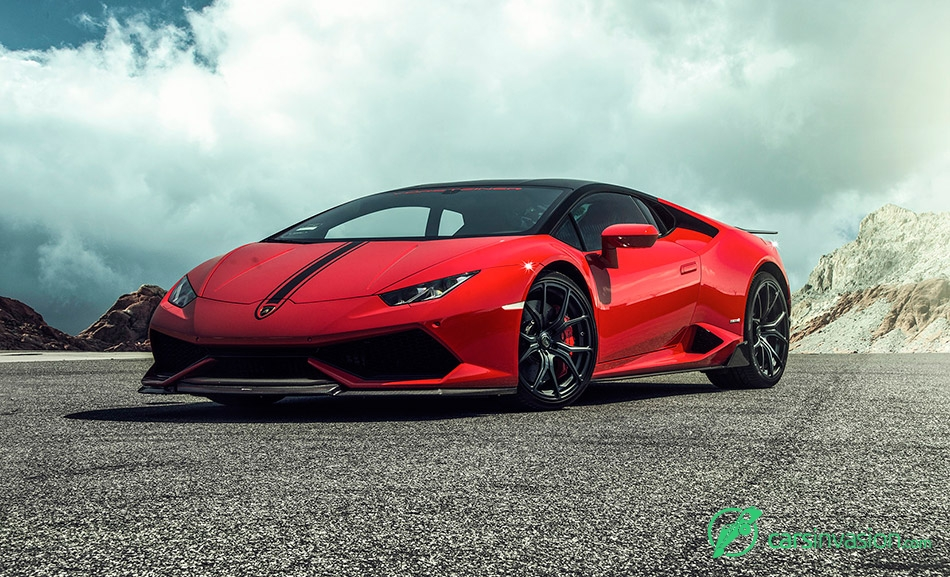 2015 Vorsteiner Lamborghini Huracan Verona Edizione Front Angle