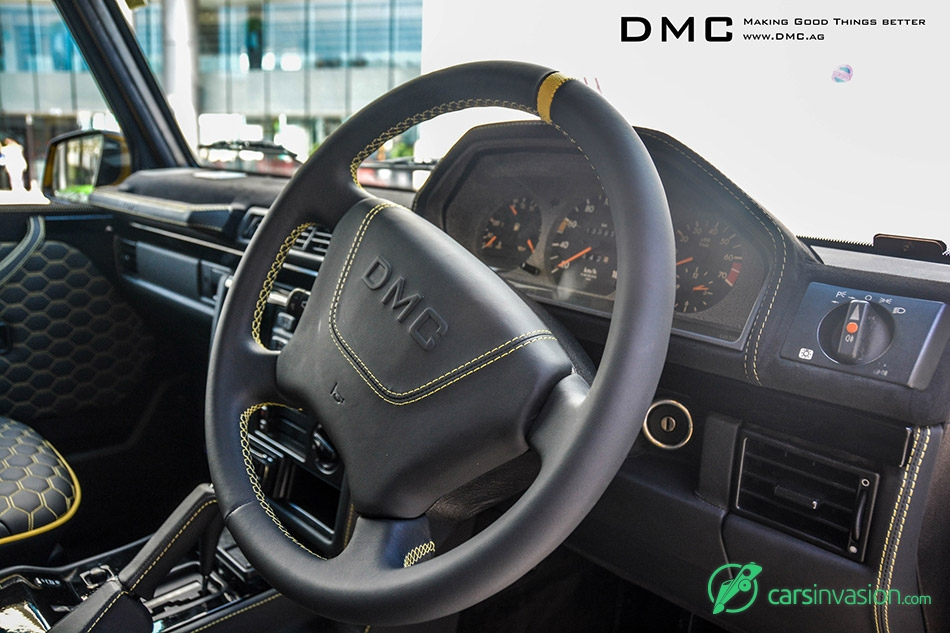 2015 DMC Mercedes-Benz G-Class G88 Limited Edition Interior