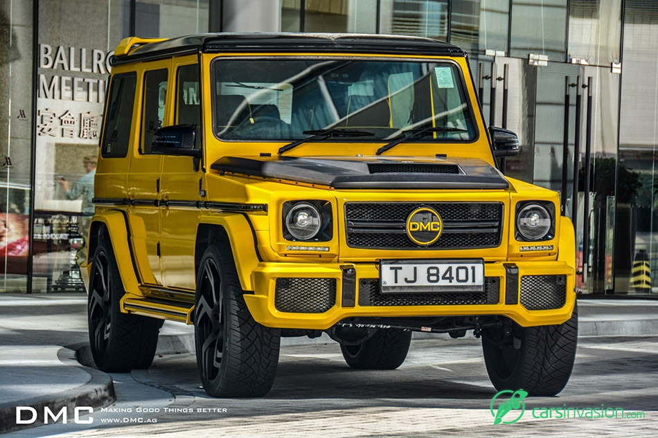 2015 DMC Mercedes-Benz G-Class G88 Limited Edition Front Angle