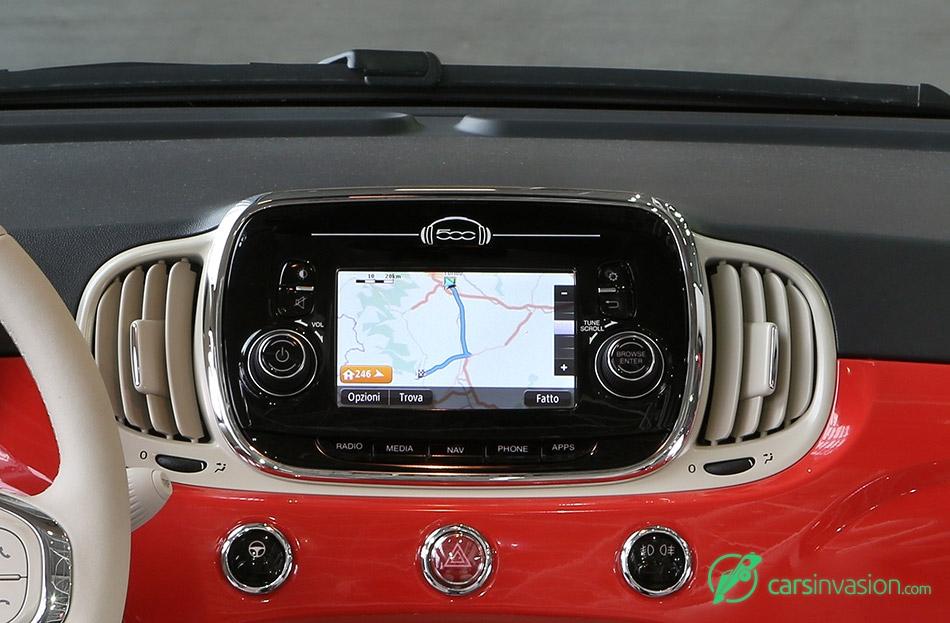 2016 Fiat 500 TomTom Navigation Software