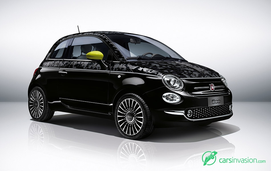 2016 Fiat 500 Front Angle