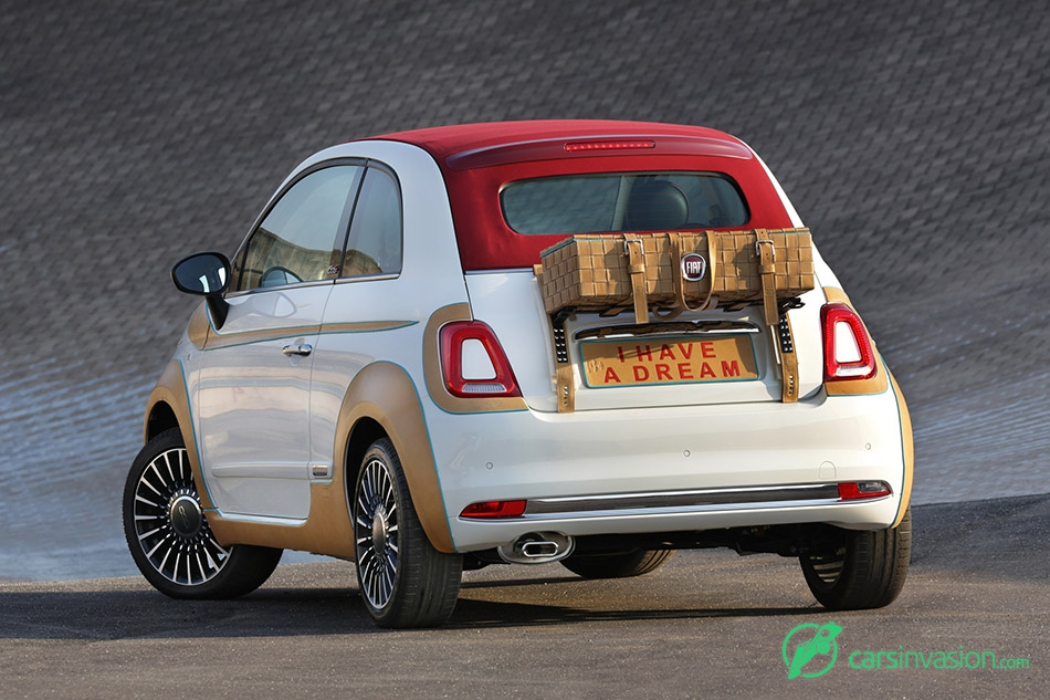 2015 Fiat 500 Showcar Rear Angle
