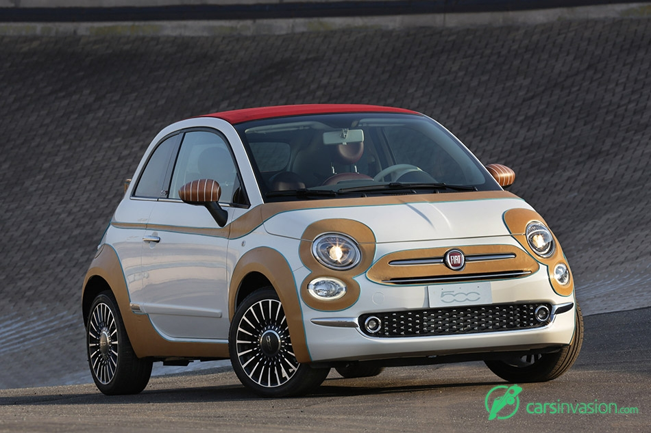 2015 Fiat 500 Showcar Front Angle