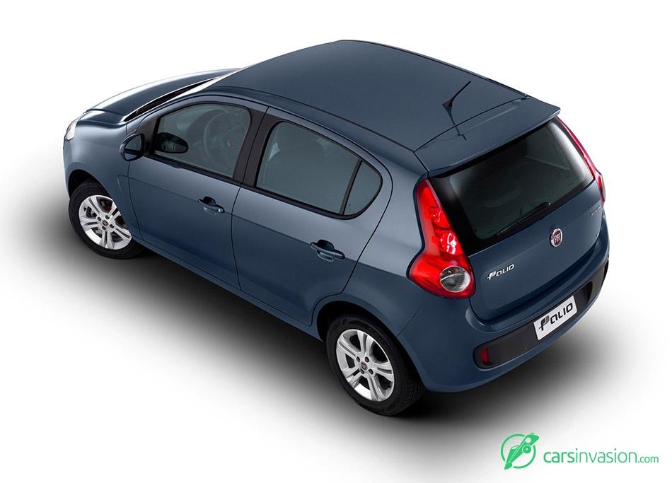 2012 Fiat Palio Rear Angle