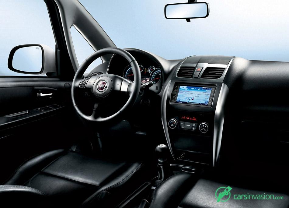 2010 Fiat Sedici Interior