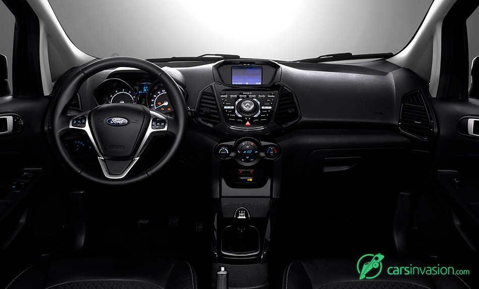 2016 Ford EcoSport EU-Version Interior