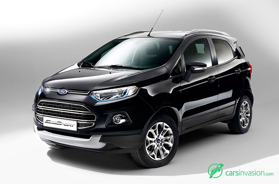 2016 Ford EcoSport EU-Version Front Angle