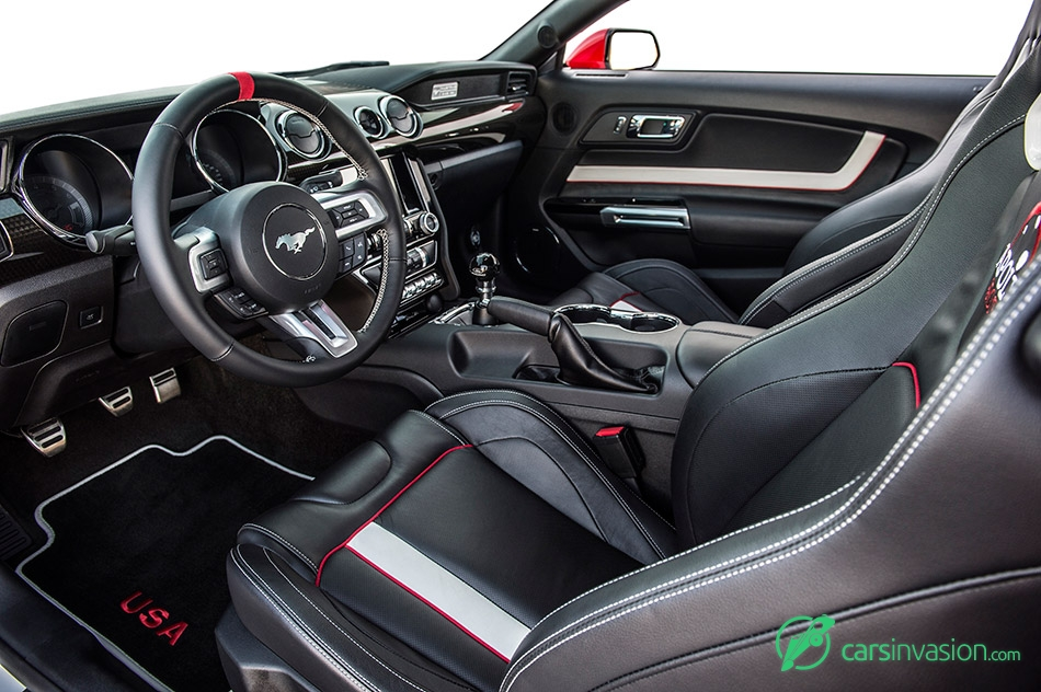 Apollo Edition Mustang 2015 Interior