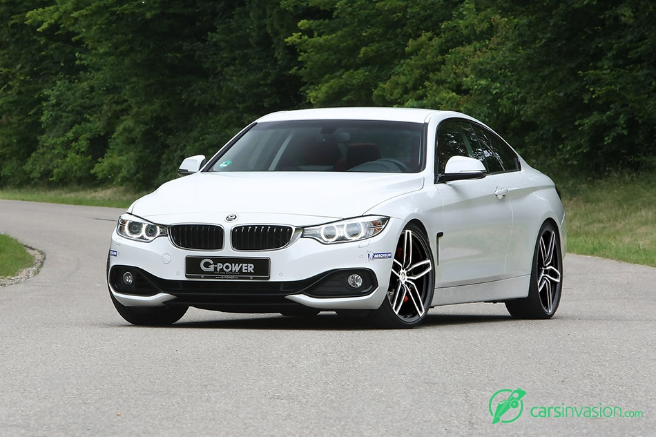 2015 G-Power BMW 435d xDrive F32 Front Angle